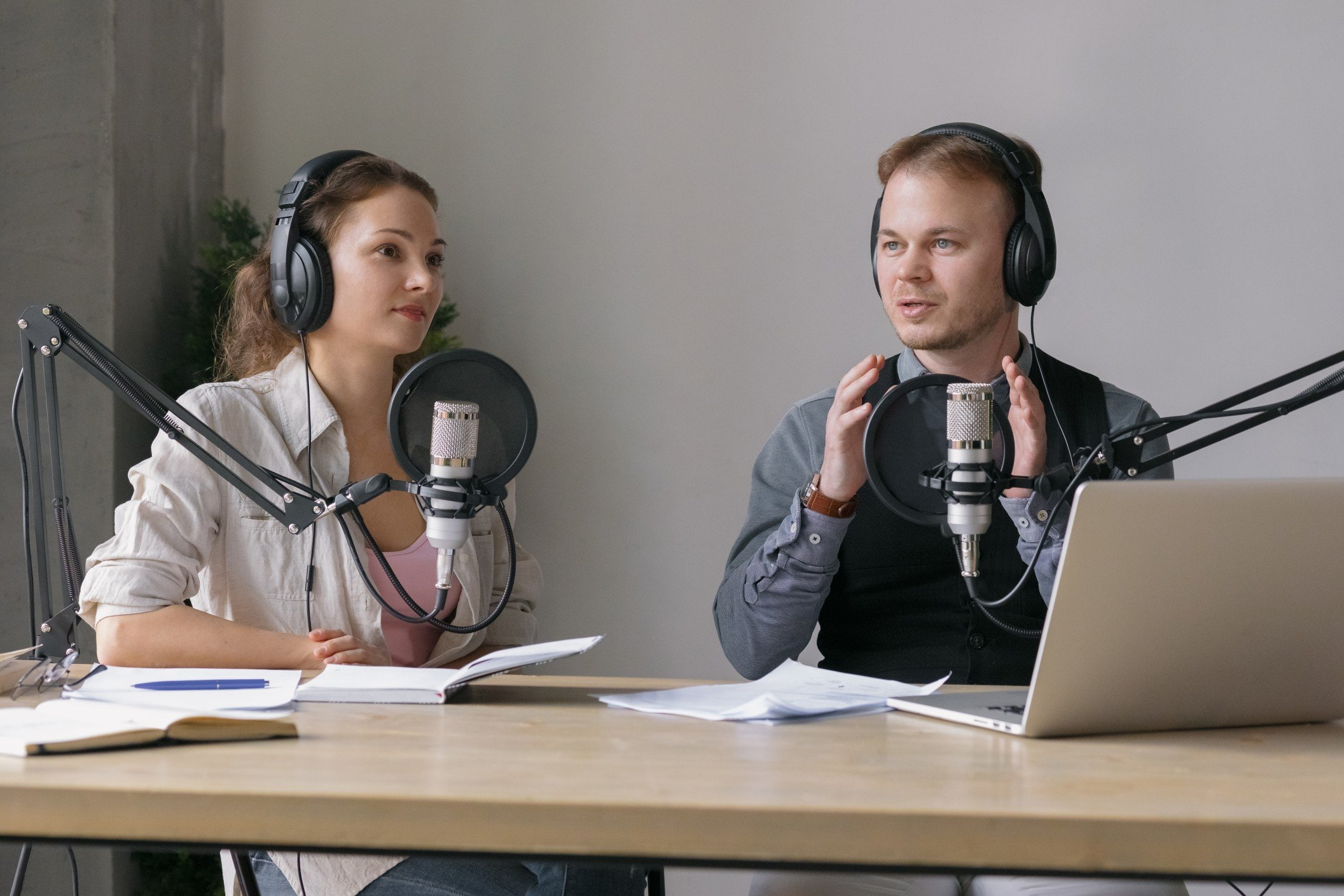 First time podcasting